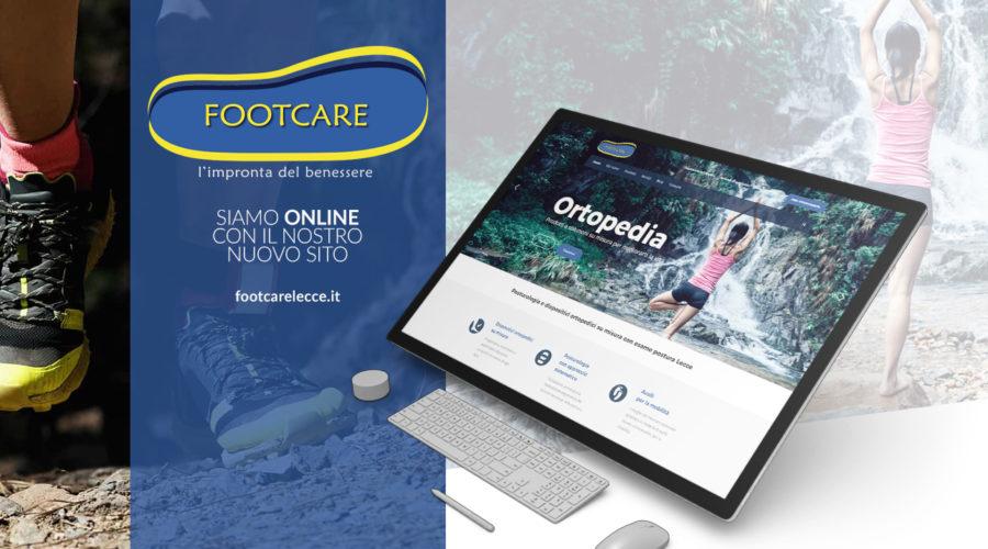 Footcare nuovo sito on line